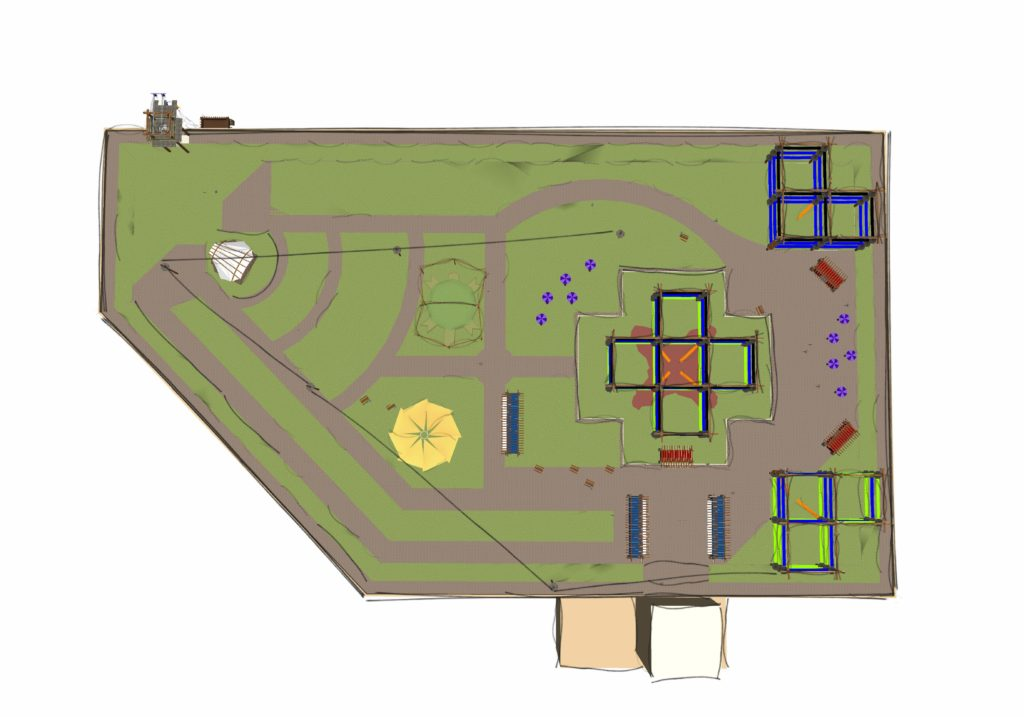 Custom course blueprint