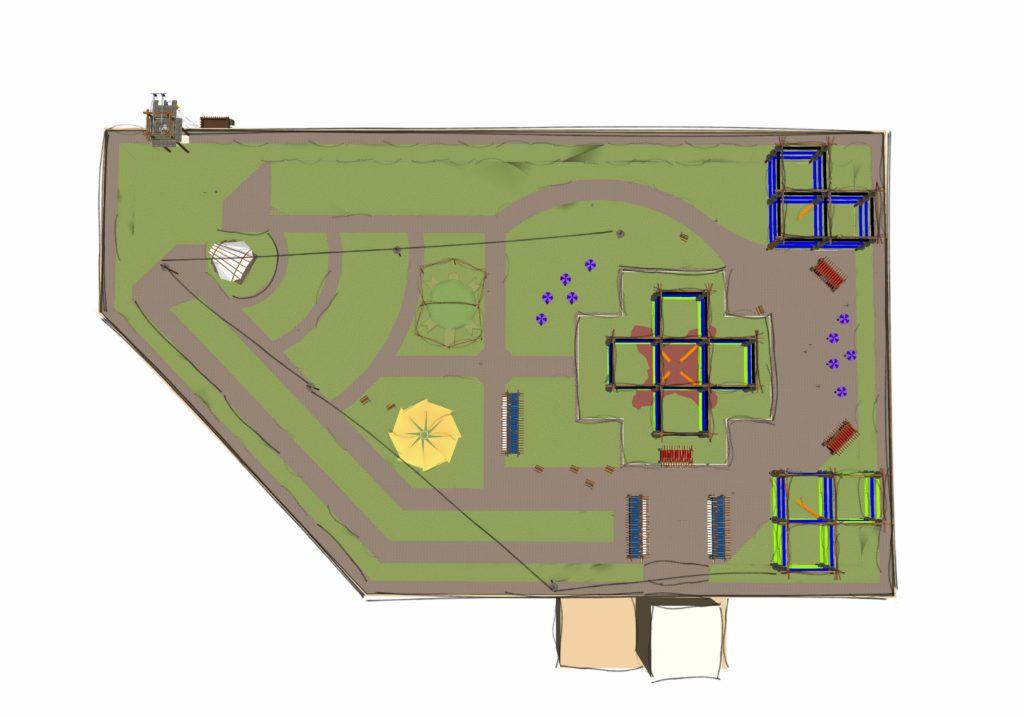 Custom course blueprint