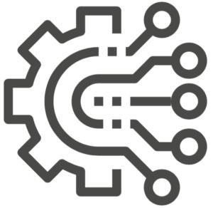 Gear symbol.