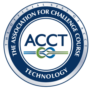 Association for Challenge Course Technology seal.