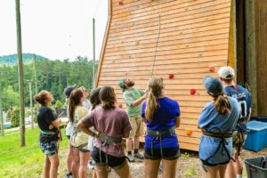 challenge towers training camp climbing tower instruction