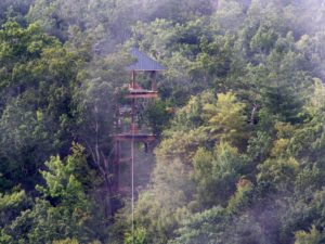 Mountaintop Zipline Tour at the Nantahala Outdoor Center Bryson City, NC-3