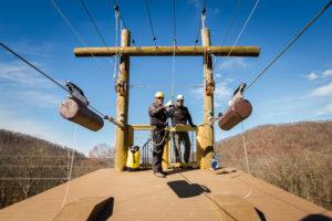 The Ridge Runner Zip Tour at Omni Homestead Resort, VA-2
