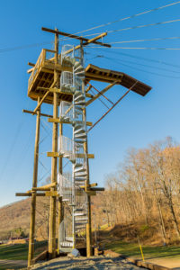 The Ridge Runner Zip Tour at Omni Homestead Resort, VA-3