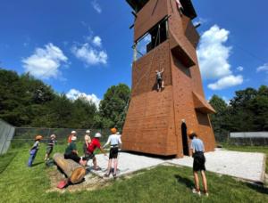 Camp Raven Knob Climbing Tower