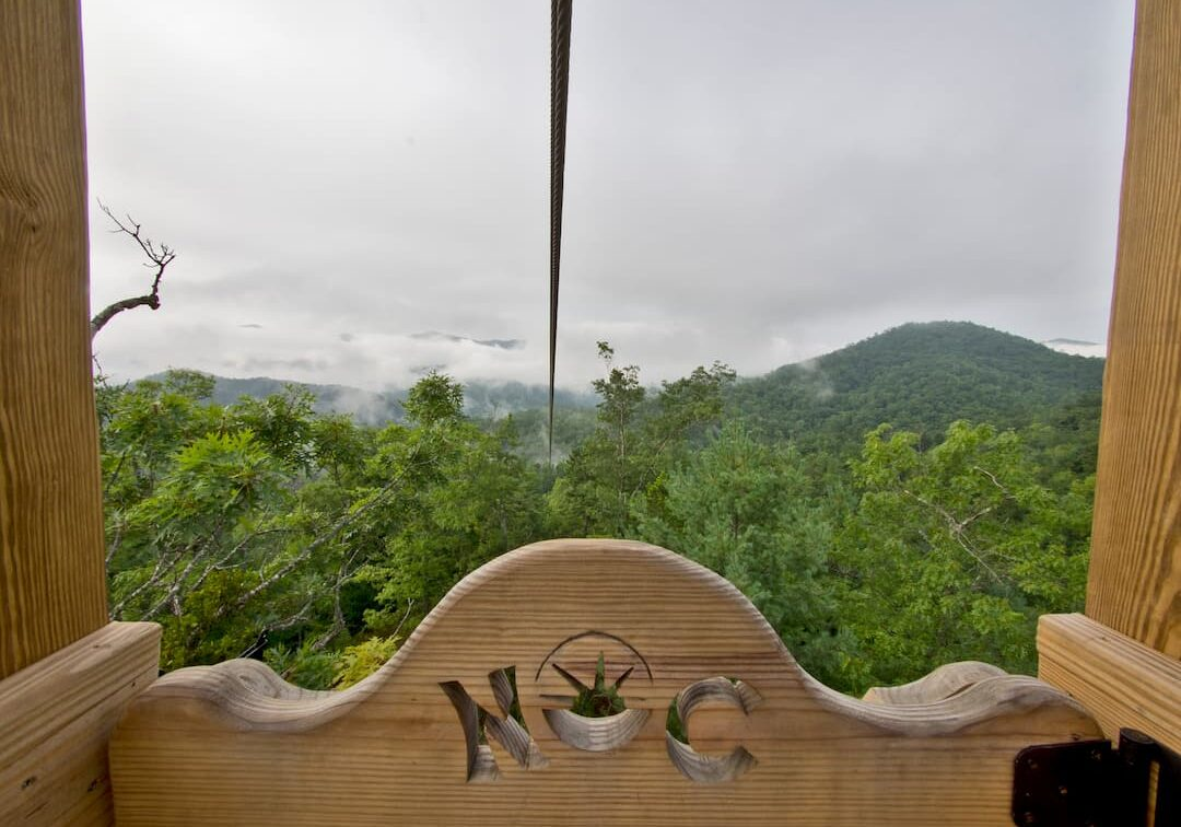 Mountaintop Zipline Tour at the Nantahala Outdoor Center Bryson City, NC-1