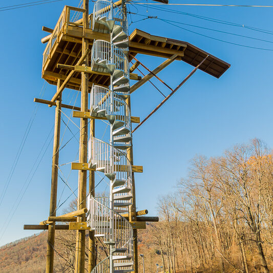 The Ridge Runner Zip Tour at Omni Homestead Resort, VA-3